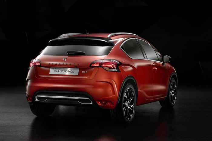 Facelifted DS4