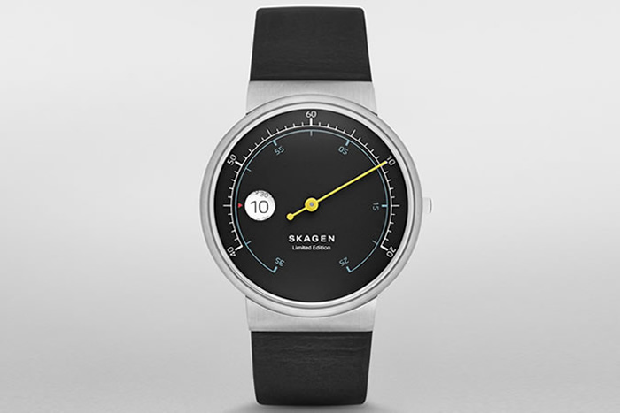 Skagen Ancher Mono Limited Edition Leather Watch