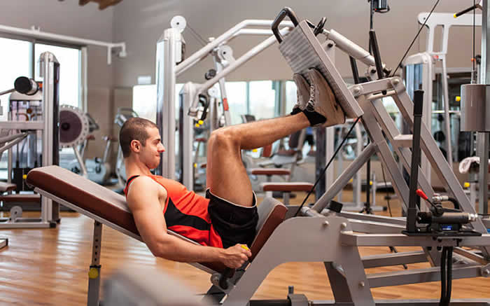 Jason Wheat's Leg Quake workout