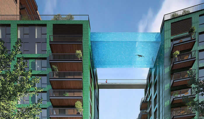 Suspended Sky Pool