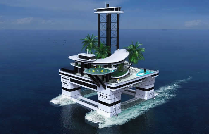 private floating Yachts