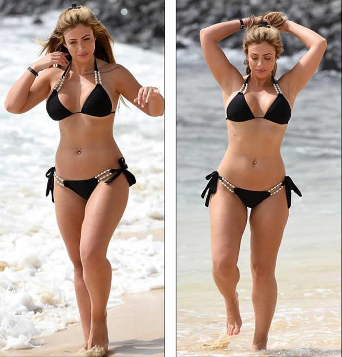 Holly Hagan Hot Bikini