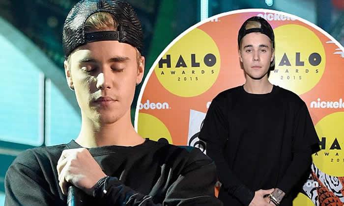 ustin Bieber wins HALO Award