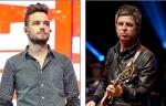 Liam Payne (L) has accused Noel Gallagher (R)