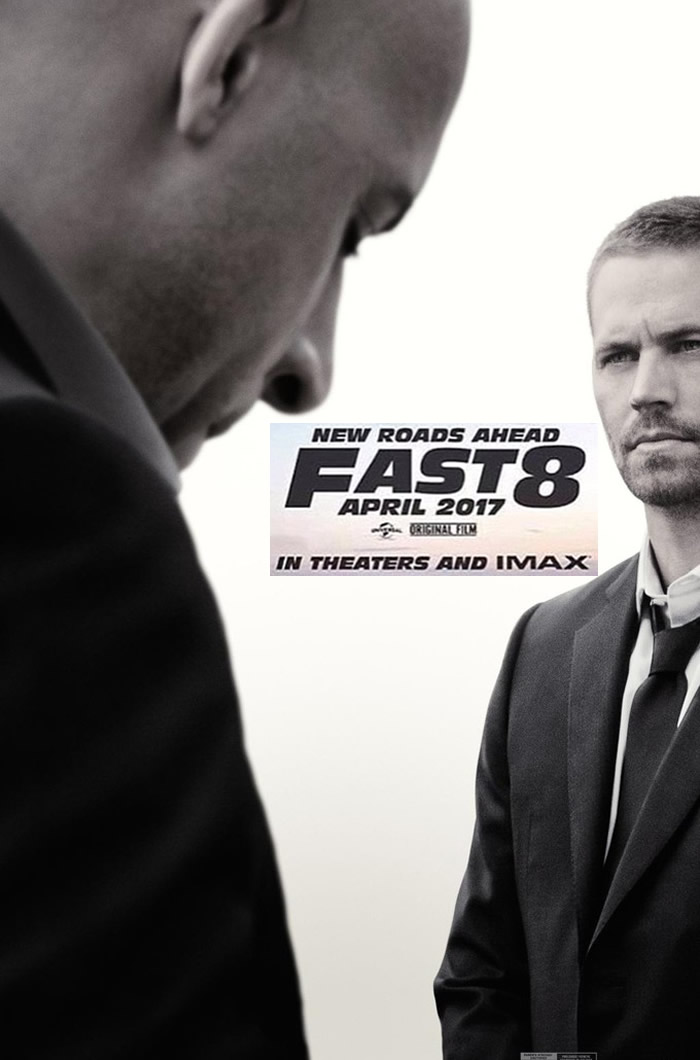 First Poster for Fast 8