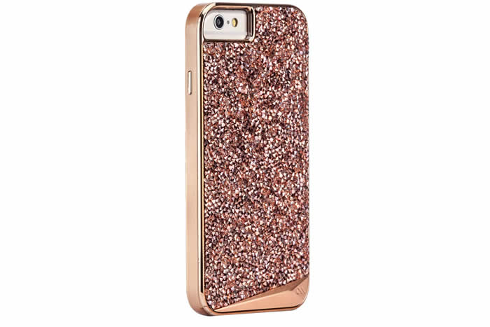 For the Chic Techie: Rose Gold iPhone 6/6s Case