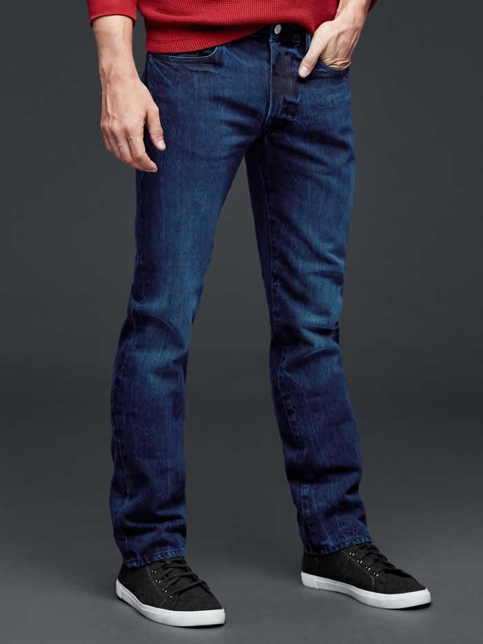 Wear Them Every Day:  Gap 1969 Black Slim Fit Jeans
