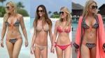 Hofit Golan Skimpy Bikinis
