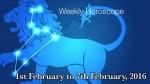 1st February - 7th February 2016