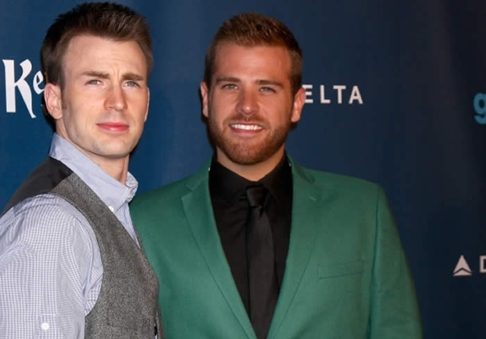 Chris Evans and Brother Scott Evans