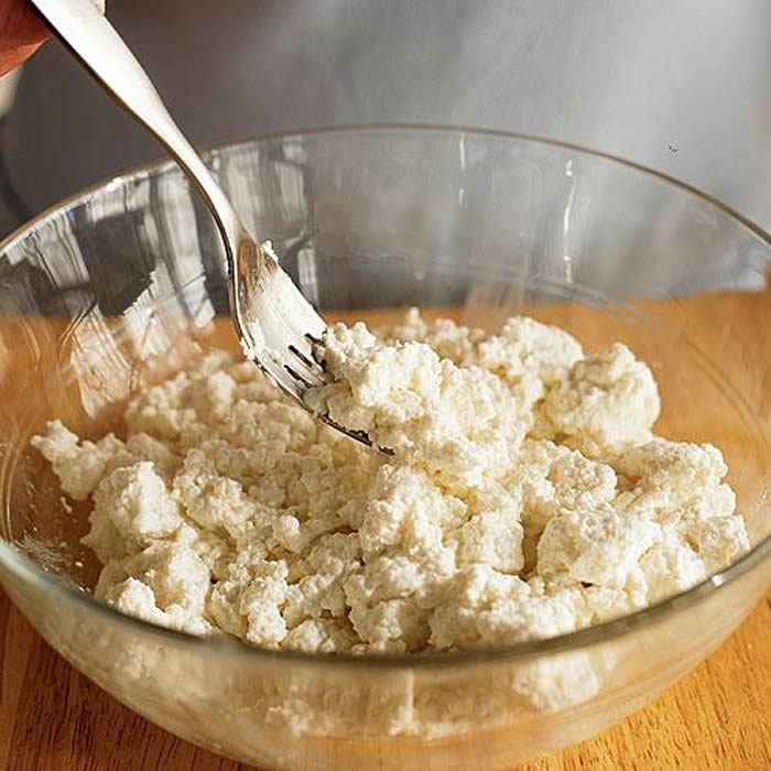 Low Fat Ricotta with Honey