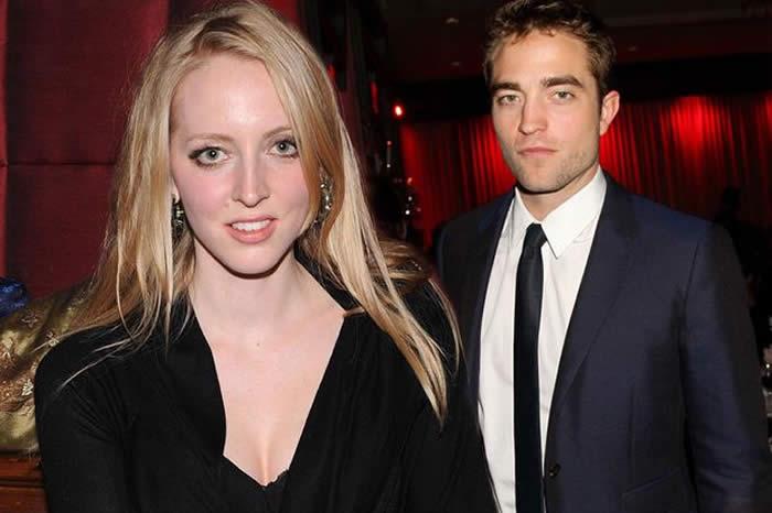 Robert Pattinson and Sister Lizzy Pattinson