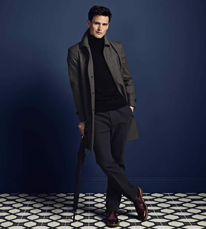 Roll Neck + Slim Trousers