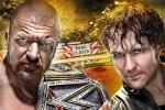 Triple H Vs. Dean Ambrose