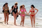 Holly Hagan Sizzles Tiny Pink Bikini Girls Trip