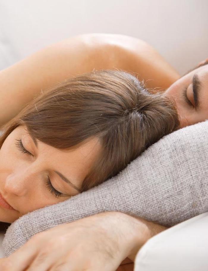 Women Sleep well
