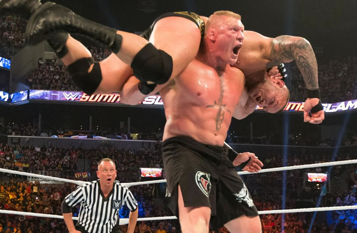 Randy Orton and Brock Lesnar rematch announced for Sept. 24 Live Event in Chicago