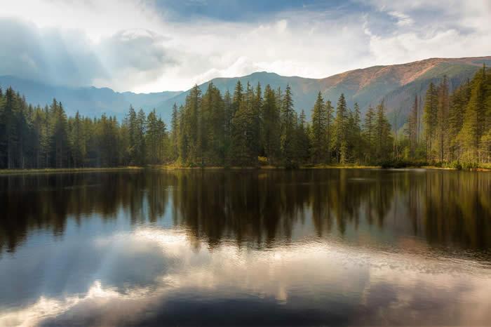 Beautiful Reflection by Wojciech Toman