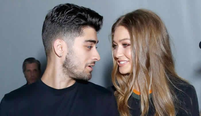 Gigi Hadid Zayn Malik Together London Fashion Week