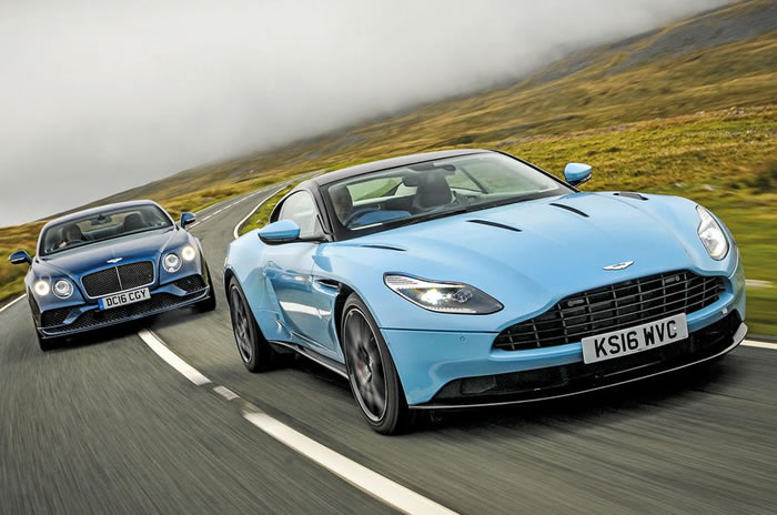 Aston Martin DB11 vs Bentley Continental GT Sport - grand tourers compared
