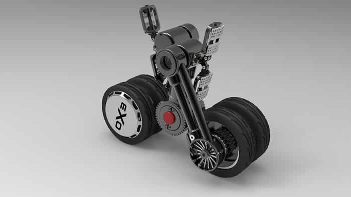 The Worlds First Compactable Electric Skateboard EXO