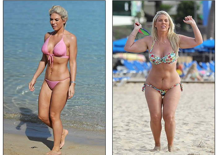 TOWIE's Frankie Essex Wears A Skimpy Pink Bikini for Mykonos Beach Break