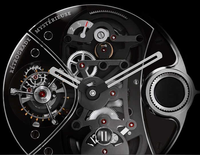 Recently Retired: Chanel J12 Rétrograde Mystérieuse Tourbillon Watch