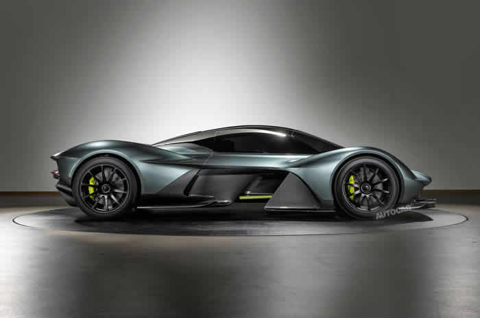 Aston Martin AM-RB 001 to use Cosworth V12 and Ricardo gearbox