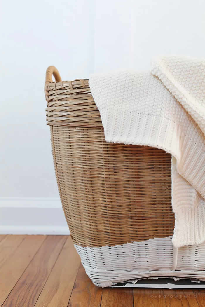 Fill a Basket With Throws