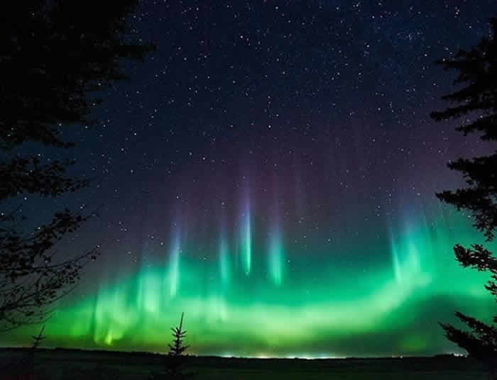 Clouds, stars, Northern Lights… You'll see why this is 'The Land of the Living Skies