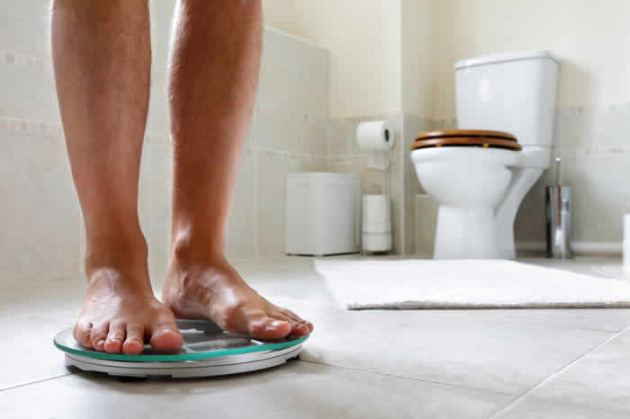 Weigh yourself on a regular basis