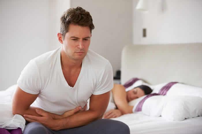 Changes in bowel habits