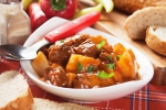 Goulash and Bread Dumplings