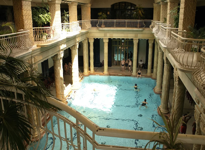 3. Relax at the famous Gellért Baths in Budapest, Hungary