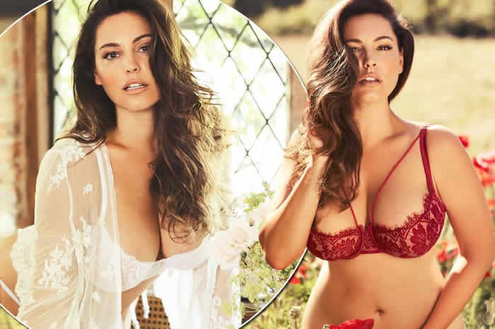 Kelly Brook Showcases Ample Assets in Sizzling Shots